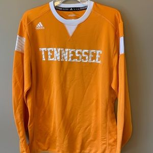 Adidas Tennessee Long Sleeve V Neck Shirt